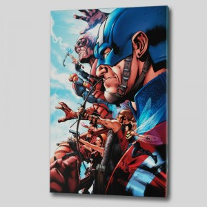 Avengers #1 LIMITED EDITION Giclee on Canvas by Bruce Timm and Marvel Comics