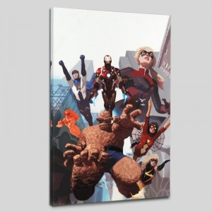 I Am An Avenger #4 Limited Edition Giclee on Canvas by Daniel Acuna and Marvel Comics