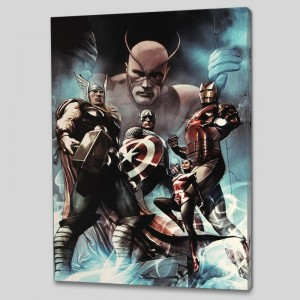Hail Hydra #2 LIMITED EDITION Giclee on Canvas by Adi Granov and Marvel Comics