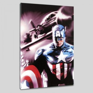 Captain America #609 LIMITED EDITION Giclee on Canvas by Marko Djurdjevic and Marvel Comics