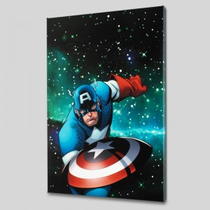 Captain America and the Korvac Saga #1 LIMITED EDITION Giclee on Canvas by Craig Rousseau and Marvel Comics