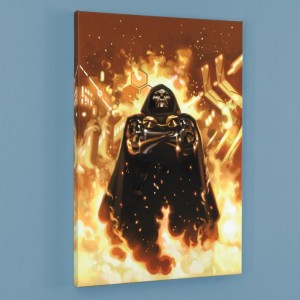 FF #2 LIMITED EDITION Giclee on Canvas by Daniel Acuna and Marvel Comics