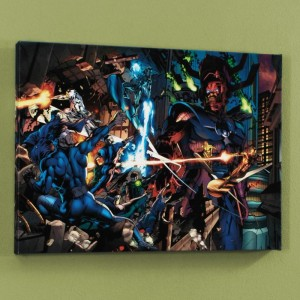 Fantastic Four #571 Limited Edition Giclee on Canvas by Dale Eaglesham and Marvel Comics