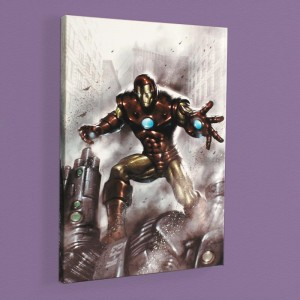 Indomitable Iron Man #1 LIMITED EDITION Giclee on Canvas by Lucio Parrillo and Marvel Comics