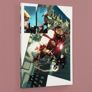 Iron Man 2.0 #1 LIMITED EDITION Giclee on Canvas by Barry Kitson and Marvel Comics