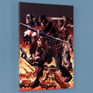 Hawkeye: Blind Spot #1 Limited Edition Giclee on Canvas by Mike Perkins and Marvel Comics