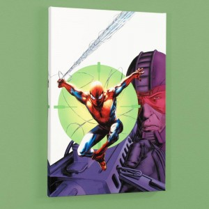 Heroes For Hire #6 Limited Edition Giclee on Canvas by Brad Walker and Marvel Comics