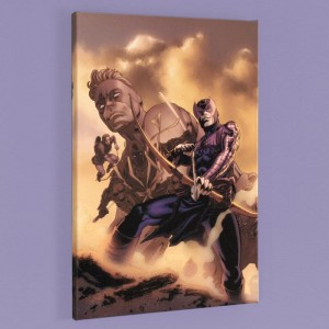 Hawkeye: Blindside #4 LIMITED EDITION Giclee on Canvas by Mike Perkins and Marvel Comics