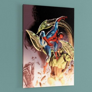 Heroes For Hire #8 Limited Edition Giclee on Canvas by Doug Braithwaite and Marvel Comics