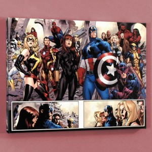 Fear Itself #7 Limited Edition Giclee on Canvas by Stuart Immonen and Marvel Comics! Numbered with Certificate of Authenticity! Gallery Wrapped and Ready to Hang!