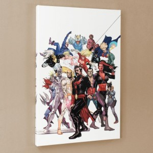 Defenders: Strange Heroes #1 Limited Edition Giclee on Canvas by Leinil Francis Yu and Marvel Comics! Numbered with Certificate of Authenticity! Gallery Wrapped and Ready to Hang!