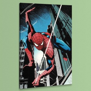 Amazing Spider-Man: Extra #3 LIMITED EDITION Giclee on Canvas by Tomm Coker and Marvel Comics