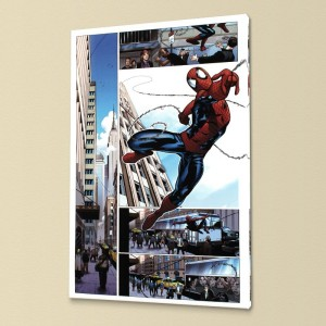 Astonishing Spider-Man & Wolverine #1 LIMITED EDITION Giclee on Canvas by Adam Kubert and Marvel Comics