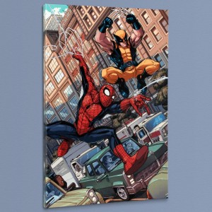 Astonishing Spider-Man & Wolverine #1 Limited Edition Giclee on Canvas by Nicholas Bradshaw and Marvel Comics
