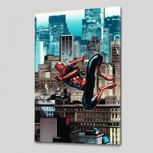 Amazing Spider-Man #666 LIMITED EDITION Giclee on Canvas by Stefano Caselli. and Marvel Comics