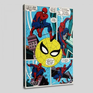 Amazing Spider-Man #90 LIMITED EDITION Giclee on Canvas by Gil Kane and Marvel Comics