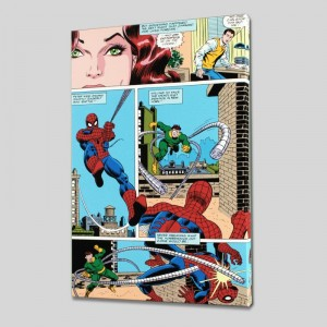 Amazing Spider-Man #90 LIMITED EDITION Giclee on Canvas by John Romita Sr. and Marvel Comics