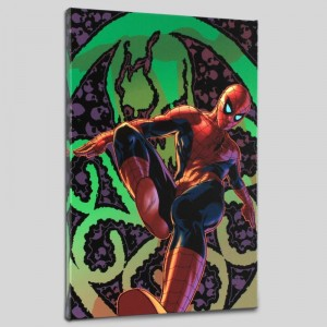 Amazing Spider-Man #524 Limited Edition Giclee on Canvas by Mike Deodato Jr. and Marvel Comics