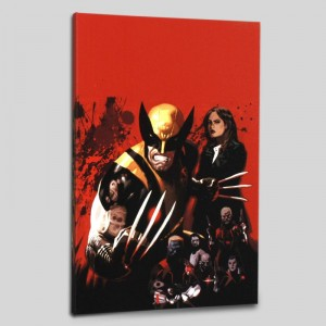 Fear Itself: Wolverine #1 Limited Edition Giclee on Canvas by Daniel Acuna and Marvel Comics
