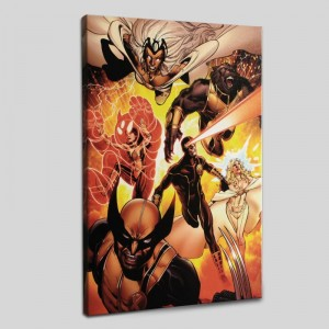 Astonishing X-Men #35 Limited Edition Giclee on Canvas by John Cassaday and Marvel Comics! Numbered with Certificate of Authenticity! Gallery Wrapped and Ready to Hang!