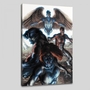 Dark X-Men #1 Limited Edition Giclee on Canvas by Simone Bianchi and Marvel Comics! Numbered with Certificate of Authenticity! Gallery Wrapped and Ready to Hang!