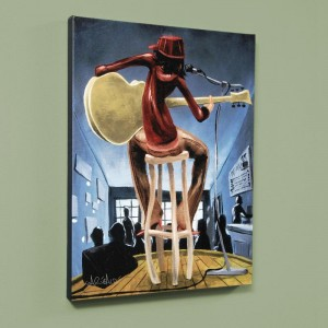 "Maxine LIMITED EDITION Giclee on Canvas (27"" x 36"") by David Garibaldi"