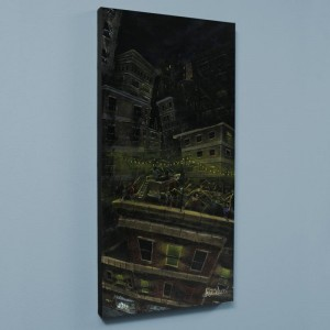 Roof Party LIMITED EDITION Giclee on Canvas by David Garibaldi
