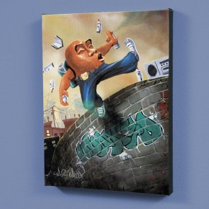 Humpty Dumpty LIMITED EDITION Giclee on Canvas by David Garibaldi