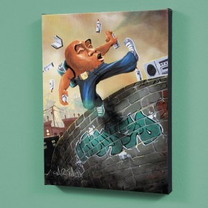 "Humpty Dumpty LIMITED EDITION Giclee on Canvas (27"" x 36"") by David Garibaldi"