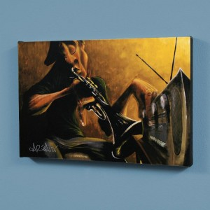 Urban Tunes LIMITED EDITION Giclee on Canvas by David Garibaldi