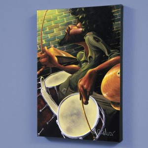 Break Beat Fever LIMITED EDITION Giclee on Canvas by David Garibaldi