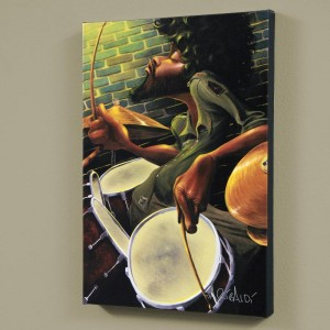 "Break Beat Fever LIMITED EDITION Giclee on Canvas (24"" x 36"") by David Garibaldi"