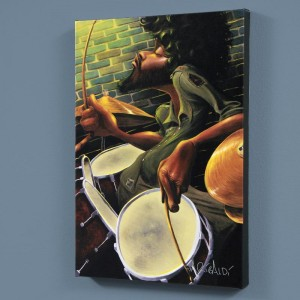 "Break Beat Fever LIMITED EDITION Giclee on Canvas (40"" x 60"") by David Garibaldi"