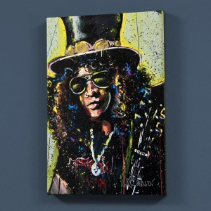 "Slash LIMITED EDITION Giclee on Canvas (30"" x 40"") by David Garibaldi"