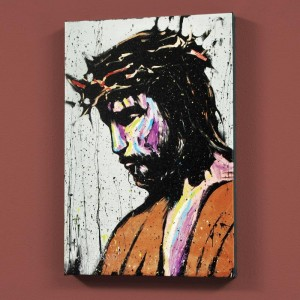 Jesus LIMITED EDITION Giclee on Canvas by David Garibaldi