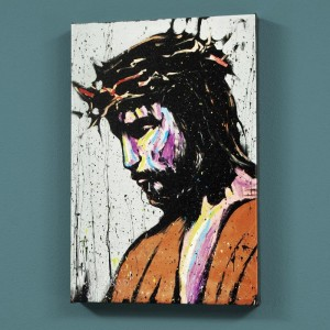 "Jesus LIMITED EDITION Giclee on Canvas (30"" x 40"") by David Garibaldi"