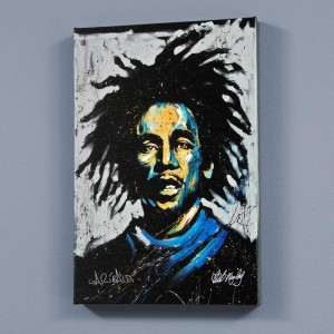 Bob Marley (Redemption) LIMITED EDITION Giclee on Canvas by David Garibaldi