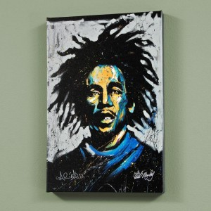 "Bob Marley (Redemption) LIMITED EDITION Giclee (30"" x 40"") on Canvas by David Garibaldi"