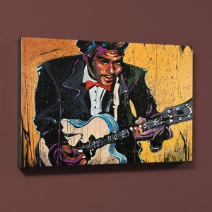 Chuck Berry (Chuck) LIMITED EDITION Giclee on Canvas by David Garibaldi