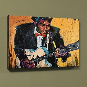 "Chuck Berry (Chuck) LIMITED EDITION Giclee on Canvas (48"" x 60"") by David Garibaldi"