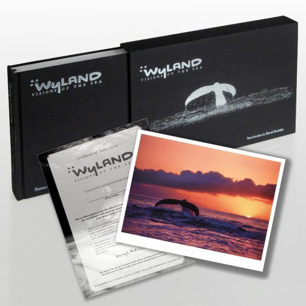 Wyland: Visions Of The Sea (2008) Limited Edition Collector's Fine Art Book by World-Renowned Artist Wyland