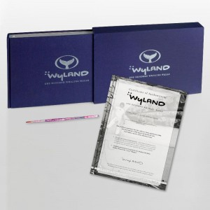 Wyland: 100 Whaling Walls (2008) Limited Edition Collector's Fine Art Book by World-Renowned Artist Wyland! Comes with One of the Actual Paint Brushes Used to Paint The Whaling Wall in Beijing