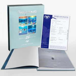 Wyland: 25 Years at Sea (2006) Limited Edition Collector's Fine Art Book by John Yow