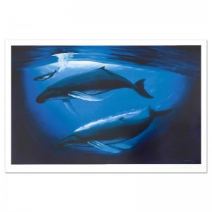 A Sea of Life Limited Edition Lithograph by Renowned Artist Wyland