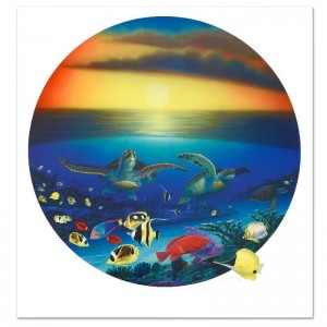 Sea Turtle Reef Limited Edition Lithograph by Famed Artist Wyland