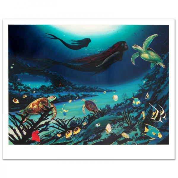 Sirens of the Sea Limited Edition Lithograph by Famed Artist Wyland