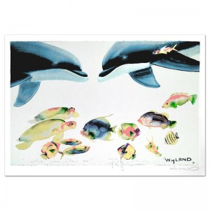 Who Invited These Guys? Limited Edition Lithograph by Celebrated Artists Wyland and Tracy Taylor
