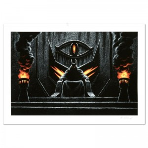 Sauron The Dark Lord Limited Edition Giclee by Greg Hildebrandt! Numbered and Hand Signed by the Artist! Includes Certificate of Authenticity!