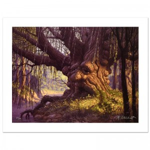 Old Willow Limited Edition Giclee on Canvas by The Brothers Hildebrandt! Numbered and Hand Signed by Greg Hildebrandt! Includes Certificate of Authenticity!