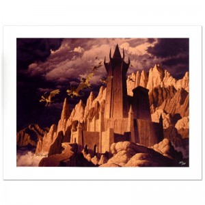 The Dark Tower Limited Edition Giclee on Canvas by The Brothers Hildebrandt! Numbered and Hand Signed by Greg Hildebrandt! Includes Certificate of Authenticity!